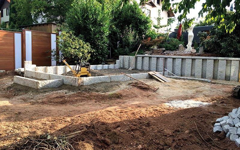 referenz Gartengestalötung Landschafts- & Gartenbau